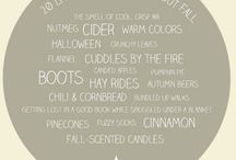 20 Little Things To Love About Fall / by The Inspired Room