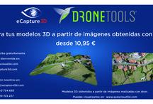 Modelos 3D generados con drone /  3D models generated with drone