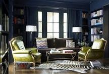 Dark & dramatic / Moody, brooding, atmospheric interiors that prove neutrals are for wimps