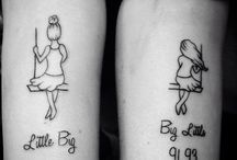 Tatuagens de irmãs