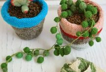 Crochet plant