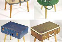 suitcase tables / by Angie Miller