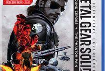 Metal Gear box arts / Box arts from Konami series Metal Gear