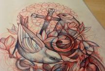 Tattoo stencils / by Coco Lmnd