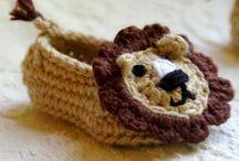 Pour les petons des bébés ! (et autres).  / chaussons, chaussures ... à tricoter, coudre ou crocheter pour les bébés.