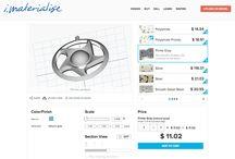 3D printing / UI, UX, 3D