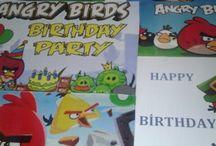 ANGRY BIRDS DOĞUM GÜNÜ PARTİ ORGANİZASYONU    ANGRY BIRDS BİRTHDAY  ORGANİSATİON / Angry bırds doğum günü parti organizasyonu Haniel davet ve organizasyon tasarımıdır.Dekor,ikramlıklar,hediyelikler tamamen butik çalışmasıdır