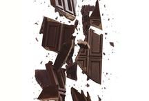 Beautiful chocolate shots