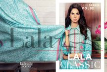 LALA CLASSIC Embroidered Vol. 2 / Shop Online: www.lala.com.pk Price @PKR 1,650/-