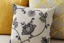 Soft furnishings / Fabrics, curtains ,cushions, wall papers