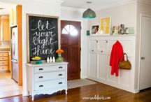 entryway / by Renee Westmoreland