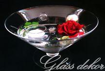 Krásné skleněné plovoucí svícny / Rozzař svůj byt či dům originálními skleněnýni svícny či vázami