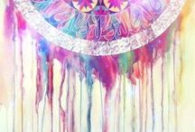 Abstractory / Abstract, Art, Water Color, Soul Stirring, Beauty,Mandala / by Mrs Clean's House Cleaning Tips