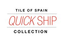 Quick Ship Collection - Spanish tile available in U.S. / The Quick Ship Collection is a select group of products from Tile of Spain Spanish tile companies that are in stock and available for immediate purchase in the U.S. Learn more at tileofspain.com/quickship