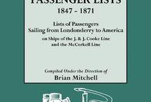 Genealogy: Passenger Ships
