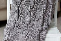 Şiş örgü battaniye