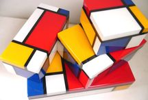Piet Mondrian Collection / Our source of inspiration... We love Mondrian so much at Musart that we dedicated him a section
