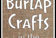 Maris costa / Burlap crafts