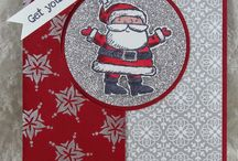 Stampin' Up! - Get Your Santa On / Projects using the stamp set 'Get Your Santa On'
