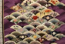 Clam shell quilting