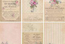 creations papiers / theme du papier