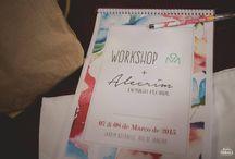 """Workshop Boho Chic Wedding_Alecrim + Oficina das Noivas / O Workshop Floral em parceria com a Oficina das Noivas teve como proposta transformar o estilo """"Boho Wedding"""" em originais arranjos florais exclusivos para o tema que farão toda a diferença na decoração do evento.  Fotos Oficiais: Nathan Thrall - Photography"""
