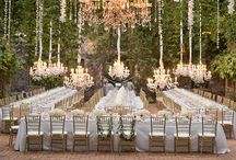 Wedding nature decorations