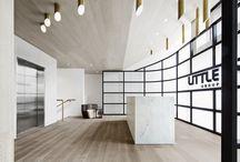 | office interiors . reception |