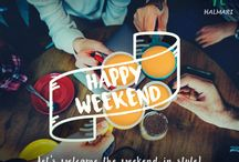 Happy Weekend With Halmari Tea / Happiness comes when you believe in what you are doing, know what you are doing, and love what you are doing.  Have a happy weekend!