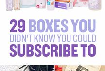 Boxes to get in mail