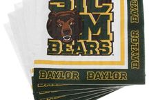 Baylor Fun / Thankful that my daughter goes to Baylor--love green and yellow! Sic 'em Bears! / by Kim Anderson