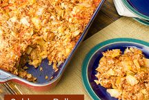 cabbage rice casserole / cabbage