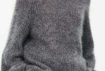 Swetters tejidos para este invierno