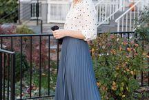 Образ юбка плиссе
