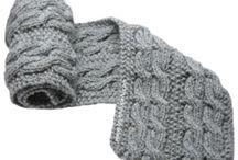 Tejidos para hombre / Muestra diseños de accesorios tejidos para hombre