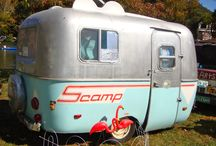 scamp trailer + camping