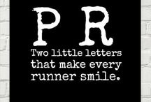 Inspirational running quotes / Words of wisdom and inspirational quotes to motivate you to get out on the road!