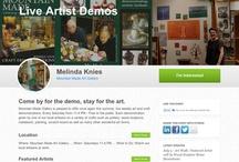 Live Art Demos