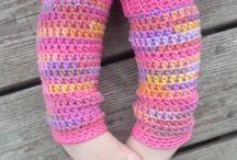 crochet leggings / by Robin Hill