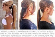 Hair pony styles
