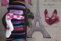 calcetines muñecos
