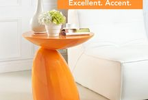 Color Counts / Forget repainting-- add a pop of colorful furniture and it'll feel like a new room!