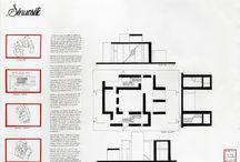 Rendus L1 | Planches / Exemples de rendus de planches rendues par les étudiants en première année à l'École Nationale Supérieure d'Architecture d Grenoble.