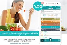 Zoefit / Just talk to track everything w/ #ZoeFit - your #goals, #weight, #calories, #macronutrients, #activities, #sleep, water and more! Download app here: https://goo.gl/AVzY1s