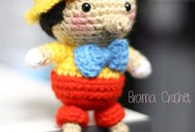Crocheted tale character