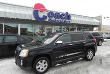 Used GMC Terrain SUVs / Coach Auto Sales offers high quality used GMC Terrain SUVs in Edmonton, Alberta.  Drop by and find out why this is the perfect vehicle for you.