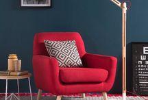 Decoración en colores rojizos / Expresa en tu hogar los vibrantes estilos de color rojo y vive la intensidad por la decoración.