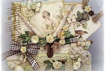 VINTAGE SHABBY CHIC CARDS