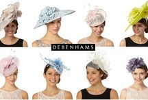 Occasion Hats & Fascinators 2016 / Fascinators, hats, headbands and hair clips for special occasions including weddings, race days and parties during 2016