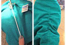 Re-fashion t-short / Da una maglietta xxl a un mini vestito..